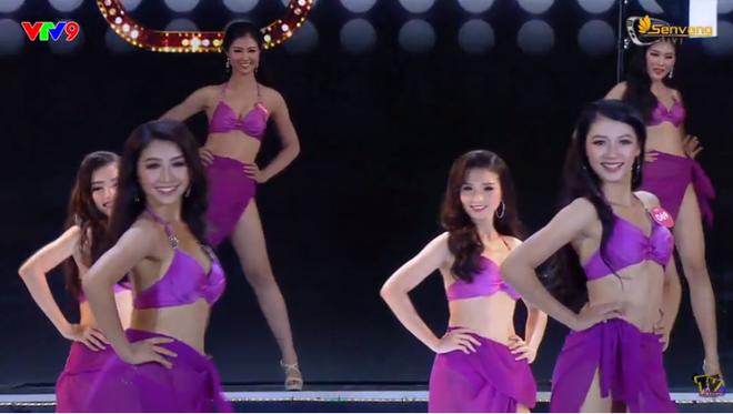 Chung kết Hoa hậu Việt Nam 2018: 25 thí sinh xuất sắc nhất trình diễn bikini bốc lửa - Ảnh 3.