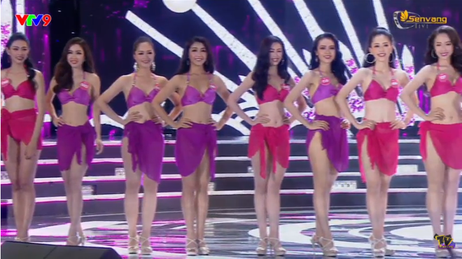 Chung kết Hoa hậu Việt Nam 2018: 25 thí sinh xuất sắc nhất trình diễn bikini bốc lửa - Ảnh 2.