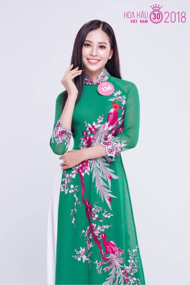 Tân Hoa hậu Việt Nam 2018 Trần Tiểu Vy: Thí sinh nhỏ tuổi nhất, vấp ngã khi thi Người đẹp biển - ảnh 6