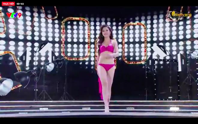 Chung kết Hoa hậu Việt Nam 2018: 25 thí sinh xuất sắc nhất trình diễn bikini bốc lửa - ảnh 13
