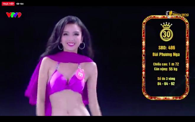 Chung kết Hoa hậu Việt Nam 2018: 25 thí sinh xuất sắc nhất trình diễn bikini bốc lửa - ảnh 14