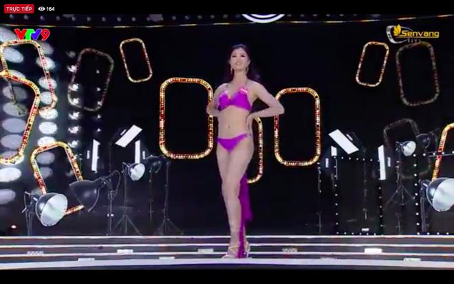 Chung kết Hoa hậu Việt Nam 2018: 25 thí sinh xuất sắc nhất trình diễn bikini bốc lửa - ảnh 19
