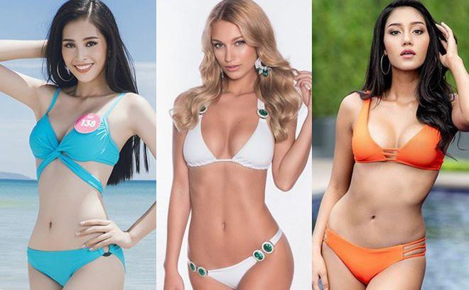Muốn chiến thắng tại Miss World, Trần Tiểu Vy phải vượt qua các Hoa hậu nóng bỏng này