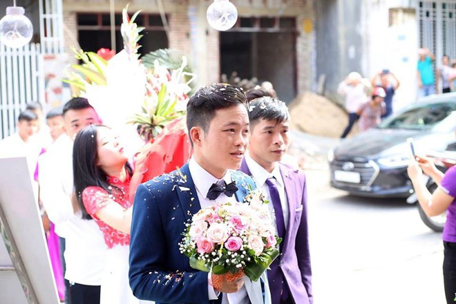 Cận cảnh lễ thành hôn đặc biệt của cô dâu 61 tuổi với chú rể 26 tuổi ở Cao Bằng - Ảnh 2.