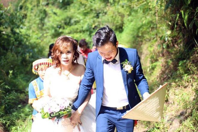 Cảnh cô dâu 61 tuổi băng rừng, lội suối, đi bộ gần 2km về nhà chồng ở Cao Bằng - Ảnh 6.