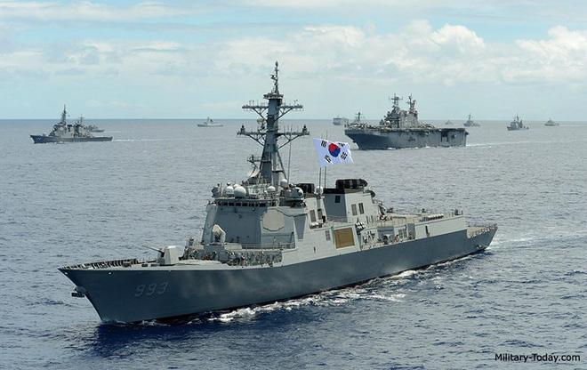 Ảnh: Sức mạnh đáng gờm của tàu khu trục Sejong Đại đế - Ảnh 6.