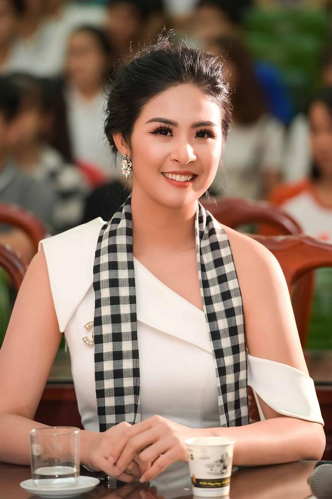 Ngọc Hân: Tôi đã lường trước việc Hoa hậu Tiểu Vy sẽ lộ bảng điểm kém - Ảnh 1.