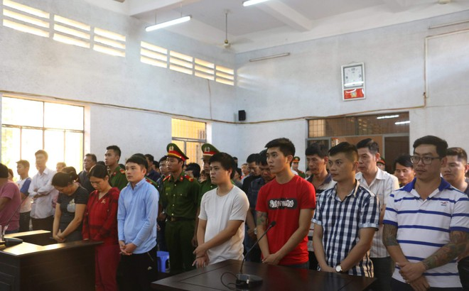 40 bị cáo lãnh án trong vụ bắt sới bạc lớn nhất tại Tây Nguyên 2