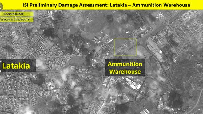 Israel nã tên lửa không kích, kho vũ khí Syria chỉ còn là đống tro tàn - ảnh 2