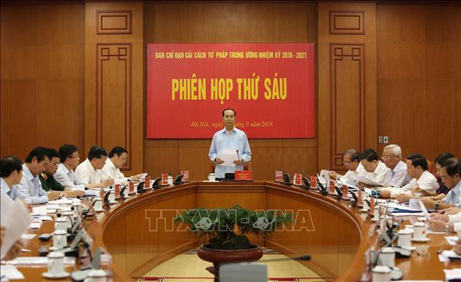 Hình ảnh những ngày làm việc cuối cùng của Chủ tịch nước Trần Đại Quang - Ảnh 10.