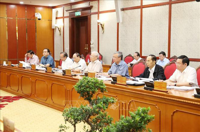 Hình ảnh những ngày làm việc cuối cùng của Chủ tịch nước Trần Đại Quang - Ảnh 3.