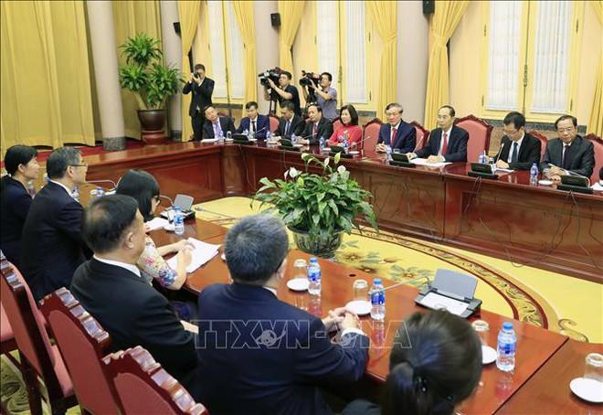 Hình ảnh những ngày làm việc cuối cùng của Chủ tịch nước Trần Đại Quang - Ảnh 7.