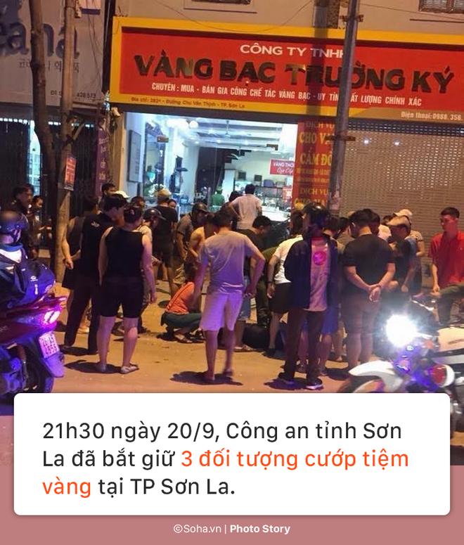 [PHOTO STORY] Lý lịch bất hảo của nhóm cướp vật lộn với bà chủ tiệm vàng ở Sơn La 1