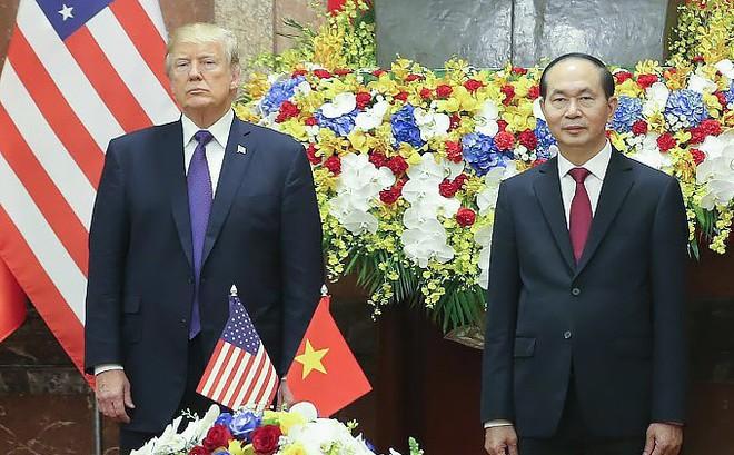 TT Donald Trump: Chúng tôi sẽ không quên tiếng nói của Chủ tịch Trần Đại Quang cho một Việt Nam đầy tự hào và độc lập trên trường quốc tế 1