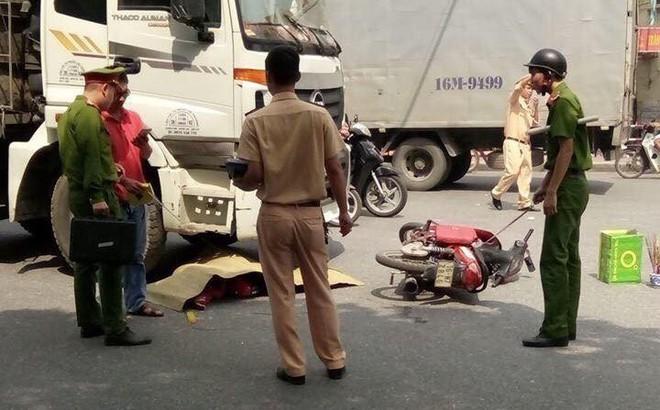 Va chạm giao thông, nữ sinh trường y bị xe tải đâm tử vong thương tâm