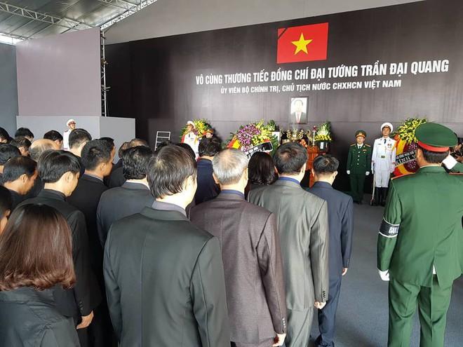 Hình ảnh lễ viếng Chủ tịch nước Trần Đại Quang tại quê nhà - Ảnh 1.