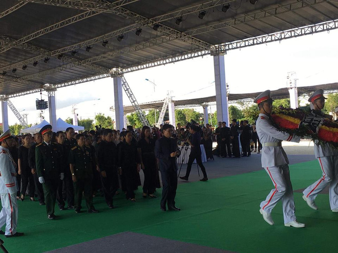 Hình ảnh lễ viếng Chủ tịch nước Trần Đại Quang tại quê nhà - Ảnh 3.
