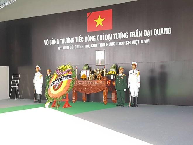 Hình ảnh lễ viếng Chủ tịch nước Trần Đại Quang tại quê nhà - Ảnh 8.