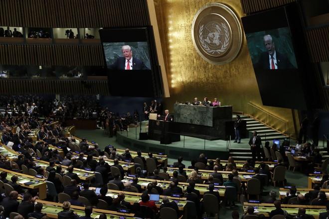 Toàn văn bài phát biểu công kích Trung Quốc, dằn mặt Iran, Syria của TT Trump tại LHQ - Ảnh 7.