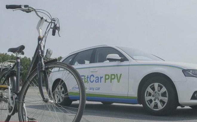 Xe ô tô lai xe đạp có thể giúp người lái đốt calo và giảm béo