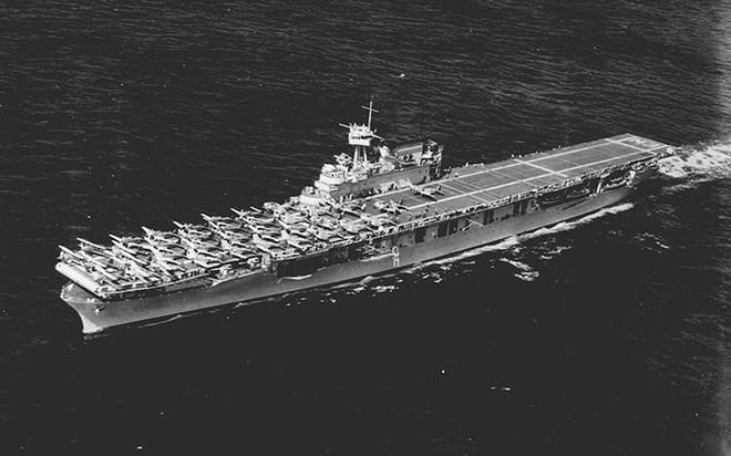 """Hành trình """"sống sót"""" của tàu sân bay USS Enterprise qua Thế chiến II - ảnh 1"""