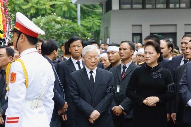 Toàn văn lời điếu tại Lễ truy điệu Chủ tịch nước Trần Đại Quang 2