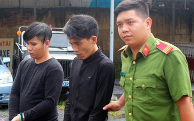 Hai thanh niên thực hiện gần 10 vụ cướp giật táo tợn giữa ban ngày