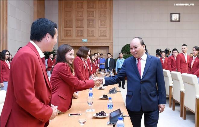 Thủ tướng trao Huân chương Lao động hạng 3 cho các VĐV giành HCV ASIAD 18 1