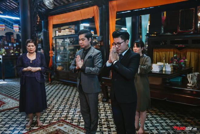 Ngọc Sơn lần đầu tổ chức lễ nhận con nuôi Duy Cường tại chùa - Ảnh 10.