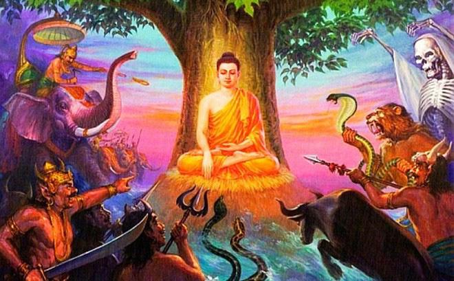 Muốn đi ngủ sớm, đệ tử nghĩ ra trò hù dọa Đức Phật mà không biết bản lĩnh đáng nể của thầy