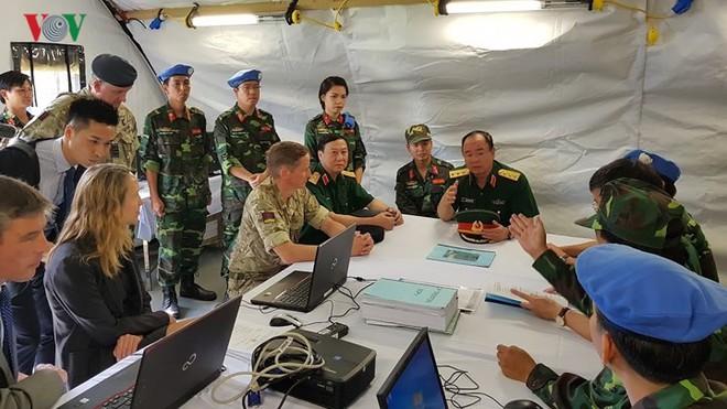 Việt Nam đã sẵn sàng cho sứ mệnh gìn giữ hòa bình tại Phái bộ LHQ - ảnh 13