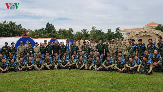 Việt Nam đã sẵn sàng cho sứ mệnh gìn giữ hòa bình tại Phái bộ LHQ - ảnh 6