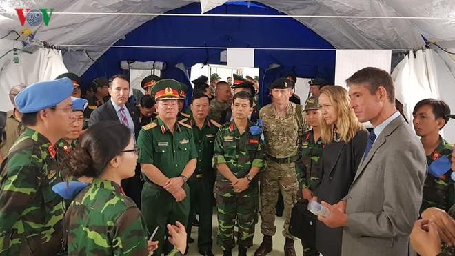 Việt Nam đã sẵn sàng cho sứ mệnh gìn giữ hòa bình tại Phái bộ LHQ - ảnh 8