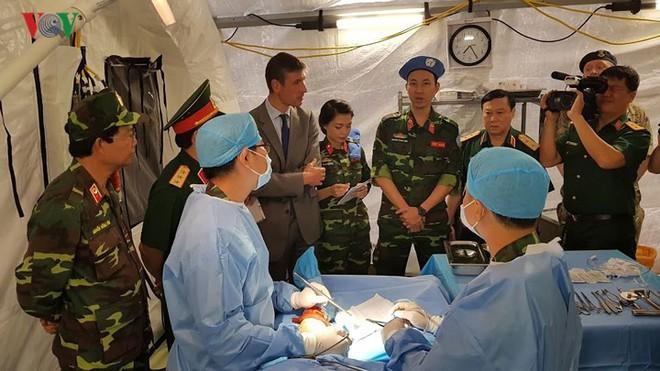Việt Nam đã sẵn sàng cho sứ mệnh gìn giữ hòa bình tại Phái bộ LHQ - ảnh 9