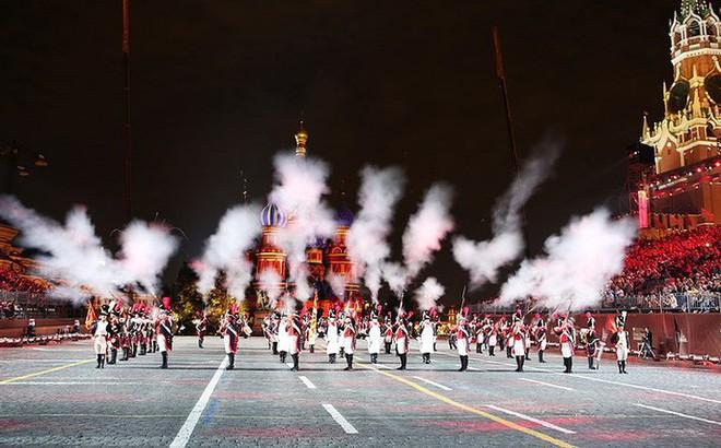 Festival quân nhạc quốc tế tại Quảng trường Đỏ của Nga