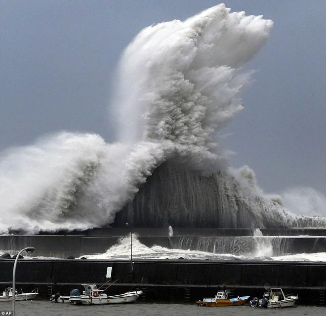 Siêu bão mạnh nhất 1/4 thế kỷ của Nhật: Hàng trăm ô tô cháy ngùn ngụt trong biển lửa - Ảnh 2.