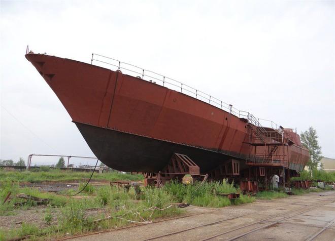 Thiết kế mới của tàu tên lửa tấn công nhanh 1241.8 Molniya: Ấn tượng, khác biệt hoàn toàn - Ảnh 5.