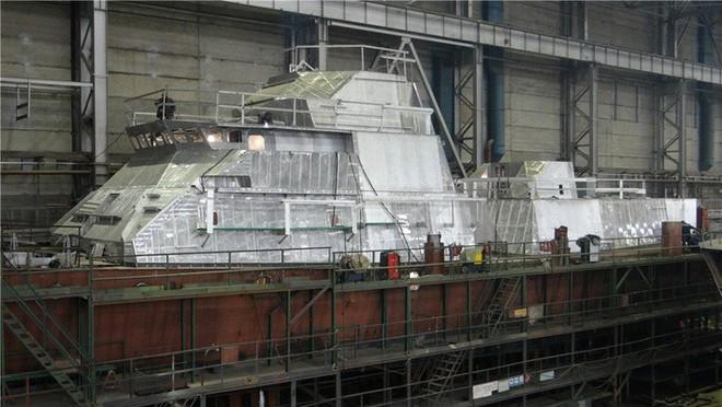 Đây là cấu hình 4 tàu tên lửa Molniya tiếp theo của HQVN: Bầy sói biển tàng hình? - Ảnh 1.
