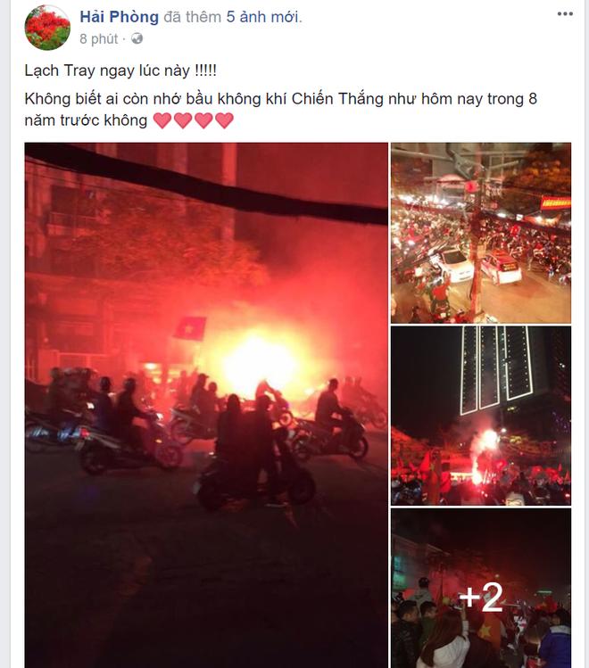 Cổ động viên Việt Nam ăn mừng dữ dội như thế nào trên Facebook? - Ảnh 4.