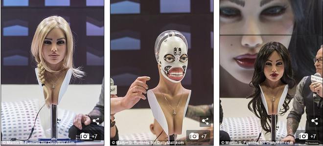 Robot tình dục Harmony tháo dỡ khuôn mặt tuyệt đẹp ngay tại CES 2018: Quá bất ngờ! - Ảnh 2.