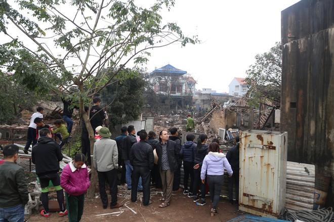 Hiện trường vụ nổ ở Bắc Ninh được phong tỏa như thế nào? - Ảnh 1.