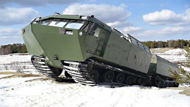 Những cỗ xe cõng tên lửa phòng không Bắc Cực của Nga có gì đặc biệt? - Ảnh 2.