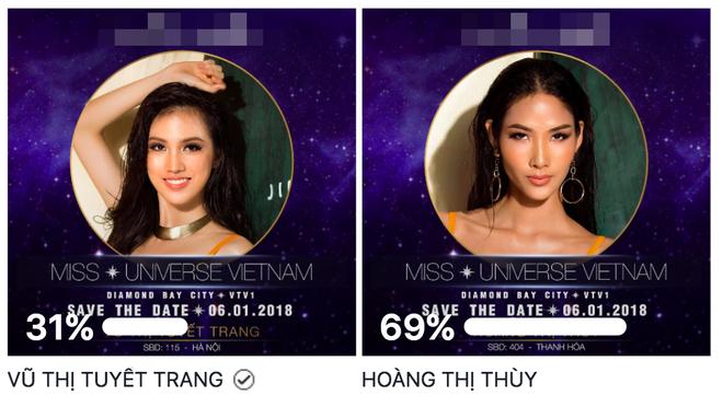 Với 69% bình chọn, Hoàng Thùy chiến thắng áp đảo giành được giải thưởng Best Face trước thềm chung kết HHHV 2017 - Ảnh 1.