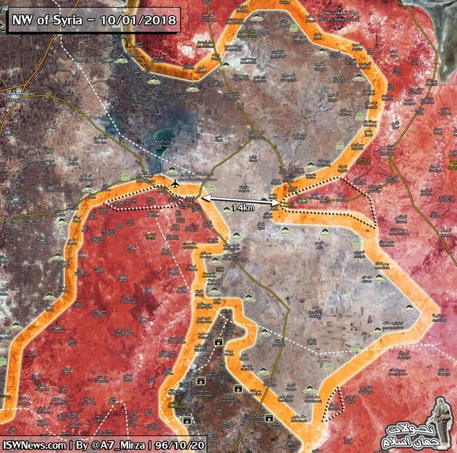 NÓNG: QĐ Syria phát lệnh tổng tiến công sào huyệt Abu Duhur - Đòn đánh dồn dập cuối cùng - Ảnh 1.