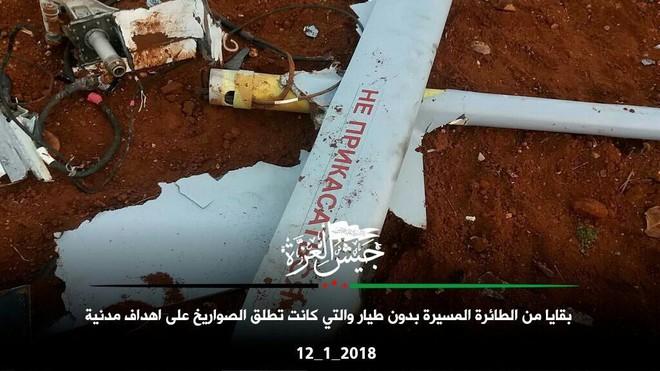 Máy bay trinh sát Nga bị phiến quân bắn hạ, tan xác ở Hama - Ảnh 2.