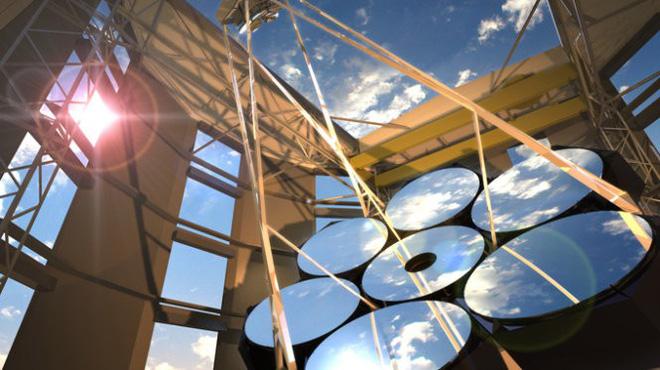 Tiết lộ dự án kính thiên văn lớn nhất thế giới: Một thấu kính trị giá 20 triệu đô! - Ảnh 1.