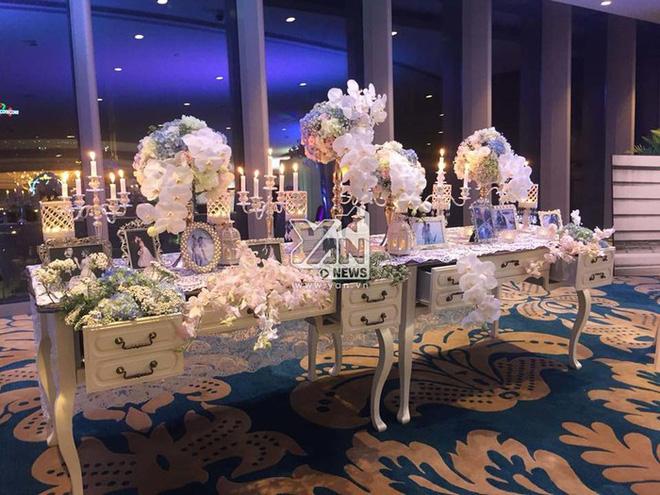 Không gian đám cưới lung linh của em gái Trấn Thành và bạn trai người Hồng Kông - Ảnh 2.