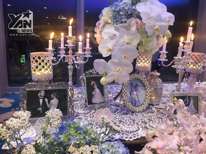 Không gian đám cưới lung linh của em gái Trấn Thành và bạn trai người Hồng Kông - Ảnh 4.