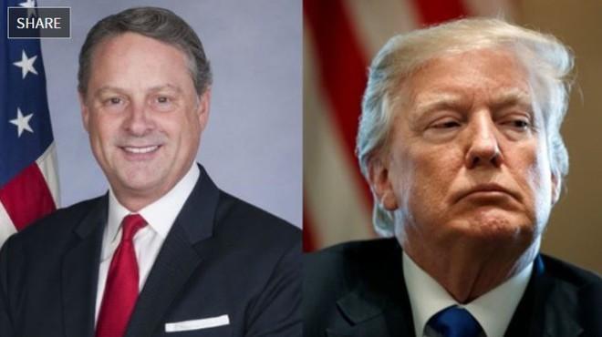 Đại sứ Mỹ tại Panama từ chức vì không làm việc được với ông D.Trump - ảnh 1