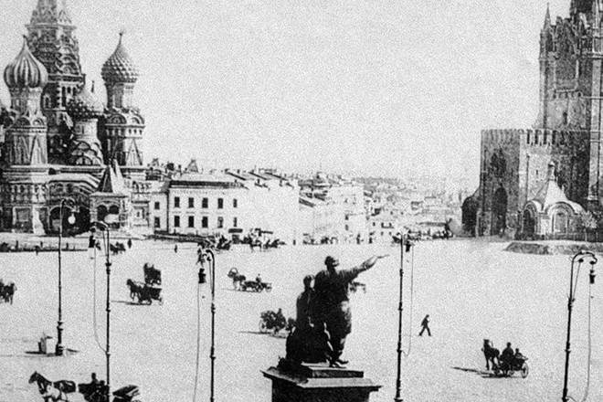 Mátxcova 100 năm trước và ngày nay